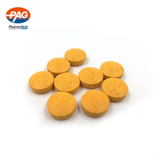 Factory hot sales oem supplier vitamin b-50 complex tablets in bulk effervescent powder