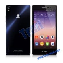 2014 brand new original 5inch 4G LTE Huawei Ascend P7 smart mobile phone Support Bluetooth Dual Cameras black