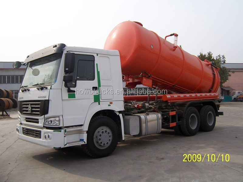 China best quality sewage vacuum suction truck for uganda