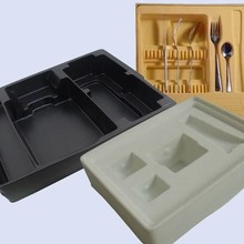 Yifang high quality china suppliers custom color cheap disposable plastic tray for cosmetics