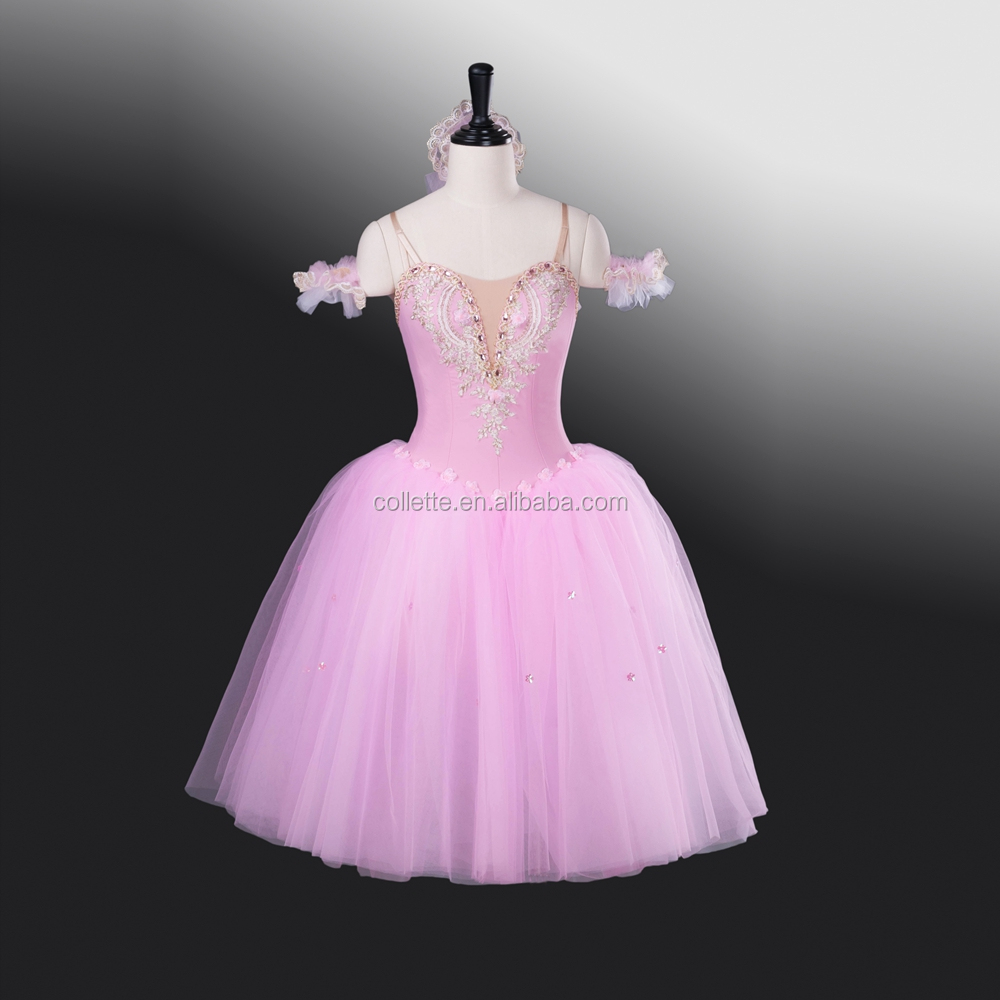 New !!!! BLY1263 !!! Girl's romantic elegant performance tulle ballerina ballet giselle dress