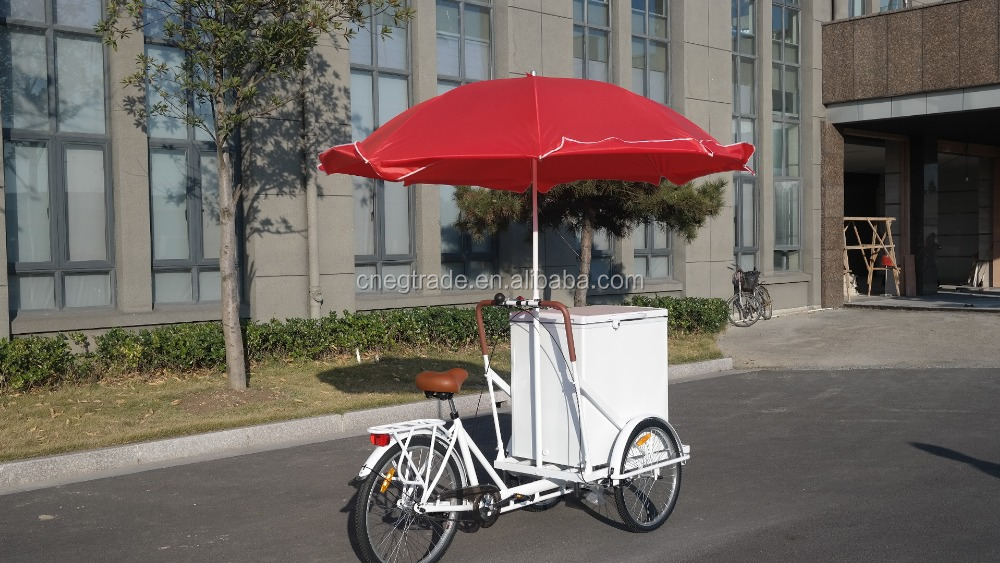 ice cream 3 wheel tricycle cargo bike/steel bike for ice-cream