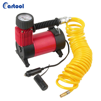 DC 12v 150 PSI mini air compressor portable car tire inflator pump