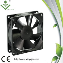 xinyujie hot sale 80*80*25 axial fan motor for air conditioner dc brushless fan young lin tech 24v 25mm dc ceiling fan