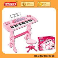 37keys educational musical electronic keyboard toys with microphone for kids