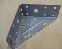 Steel angle reinforced metal corner triangle shelf bracket