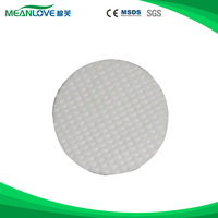 Dot embossing round cotton pads for facial cleaning