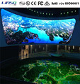 outdoor and indoor Curve surface LED screen for museum, theater, shopping center from Linso Tech