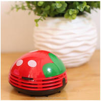 plastic office portable battery powered Mini Desktop Vacuum Cleaner