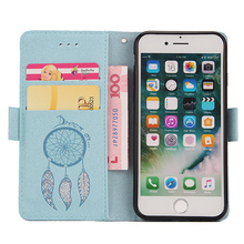 Cheap Elegant antifouling phone leather case for i6 & i7