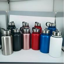 Outdoor vacuum flask 304 stainless steel vacuum flask large capacity sports tumbler water bottle