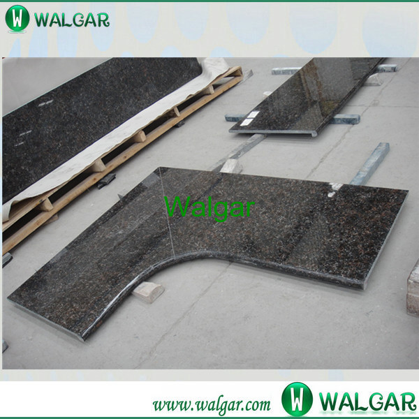 Natural Stone Polished emerald green granite countertop From Factory