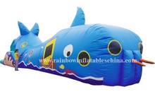 New design custom inflatable tunnel inflatable caterpillar tunnel