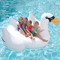 Inflatable swan pool toy not used swan pedal boats for sale