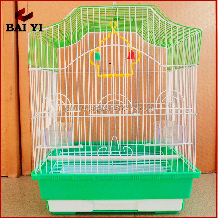 2016 BAIYI Hot Sale Portable Large Welded Mesh Bird Cage