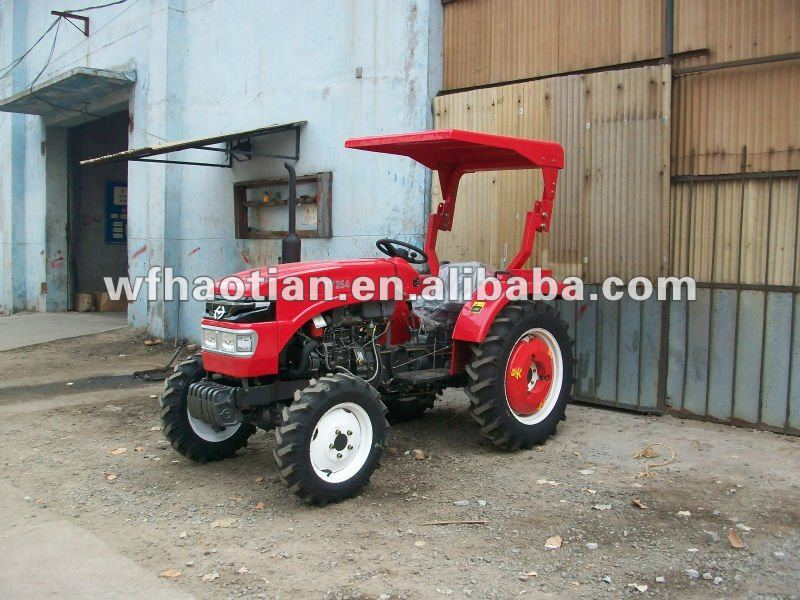 Tractor TY254 with roll bar and sunshade