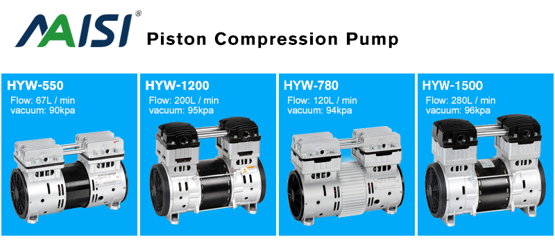 220V/110V CE ROHS ISO Piston Pump Air compressor oil free Pump Electric Air Pump HYW-780
