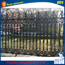 Cheap Wholesale Galvanzied Used Wrought Iron Fencing For Sale