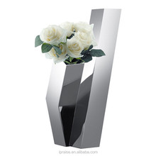 Metal Handmade Stainless Steel indoor flower vase flower plant pot