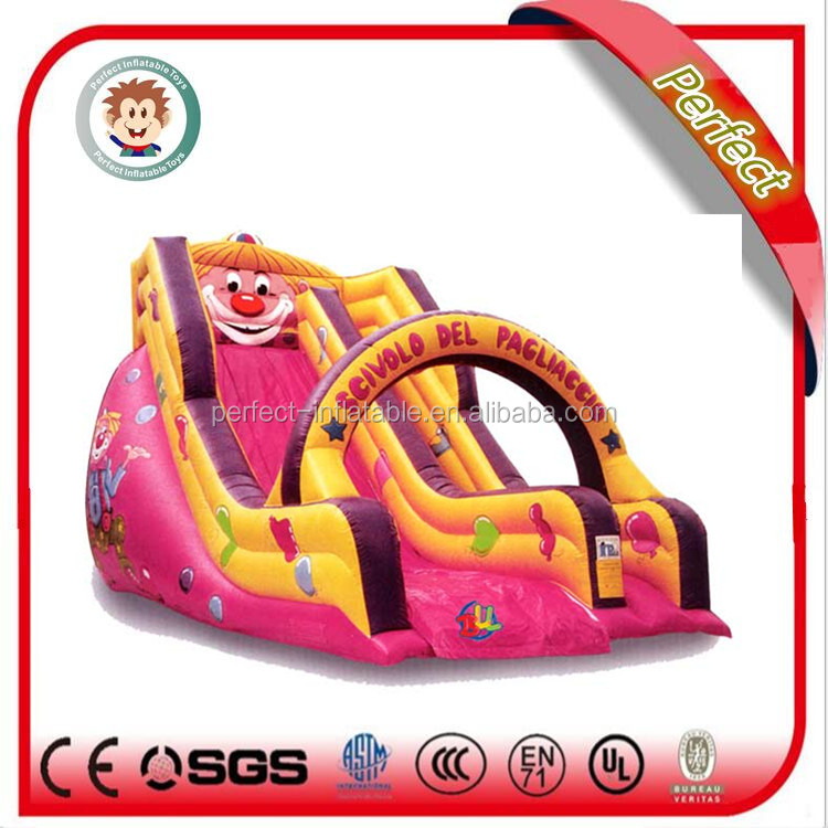 Outdoor funny inflatable games, banzai inflatable water slide