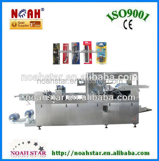 DPB-480D Battery/Tooth Brush Plastic Cardboard Blister Packaging Machine