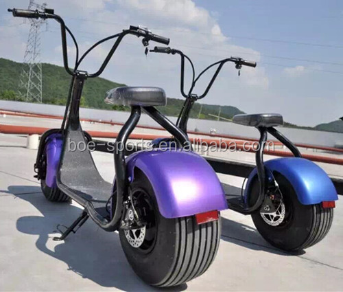 18*9.5 harley scrooser seev citycoco scooter motor 800w adult electric motorcycle for sale