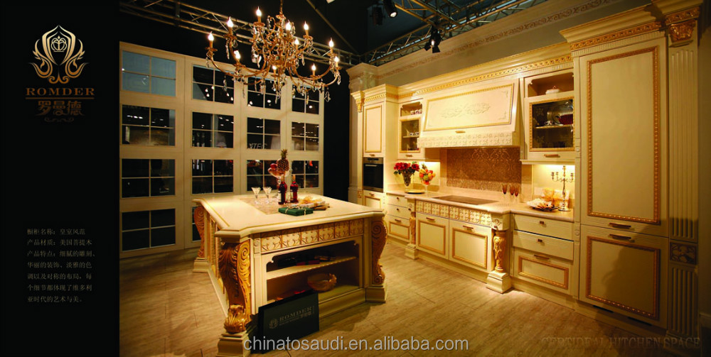 Top 3 Fancy solid wood kitchen cabinet/Kitchen with Blum fixings