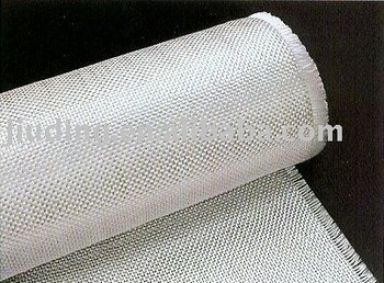 Plain weave fiberglass yarn fabric