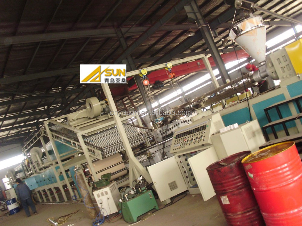 GOOD!! PVC spinneret carpet production line/PVC carpet extrusion machine/carpet making machine