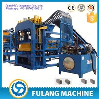 QTF6-15 fully automatic making cinder block/ large concrete block/ paving block making machine