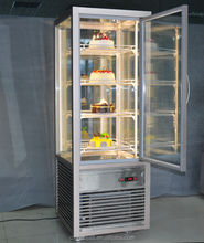 Rotated Wholesale Upright Cake Refrigerator Display