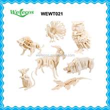 Customized all Kinds of Wooden Toys Animal