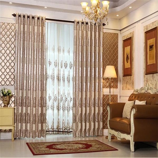 turkish curtains and blinds elegant jacquard mesh fabric automatic curtain