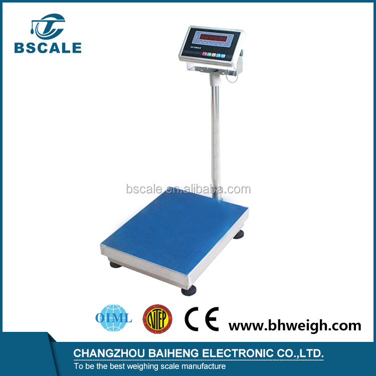 150kg 300kg electronic digital industrial Platform weighing bench scale