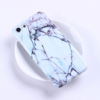 Cell accessories manufacturer wholesale mobile phone cover marble stone phone case for iPhone 6 / 7