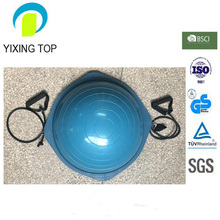 Half Ballance ball Yoga Fitness Strength Exercise ball with expander