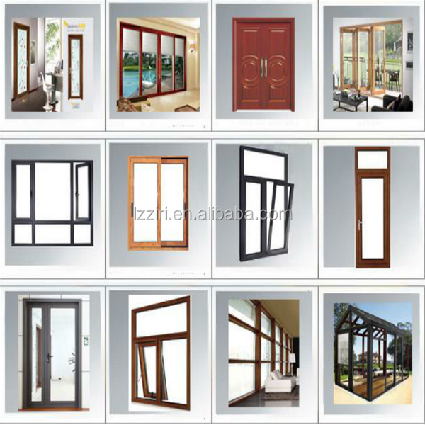 Aluminum French Casement Window Aluminium Casement Window