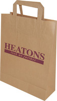 personalized brown kraft paper bags