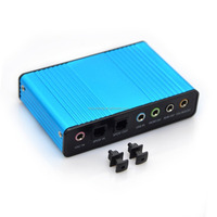 USB 7.1 Channel 5.1 Optical Audio Sound Card External Audio Sound Card