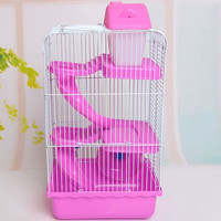 Wire pet folding cage fun home small animal cage