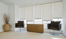 white color blinds/double layerout roller blind/day and night blind Roller Blinds Window