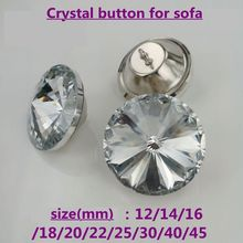 New selling super quality crystal rhinestone buttons with different size