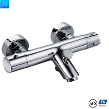 GH-512206 OEM factory expose wall Thermostatic Anti-Scald Shower mixer thermostatic bathtub mixer