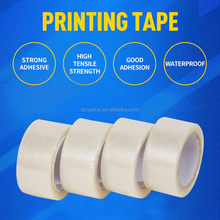 Acrylic Adhesive and Pressure Sensitive Adhesive Type custom logo printed packing tape