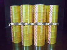 China professional manufacturer hot sale Bopp adhesive packing super clear tape
