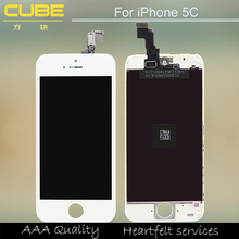 Hot Sale 100% guarantee AAA original Black LCD For iPhone 5C LCD Screen Display With Touch Screen Digitizer Assembly From China