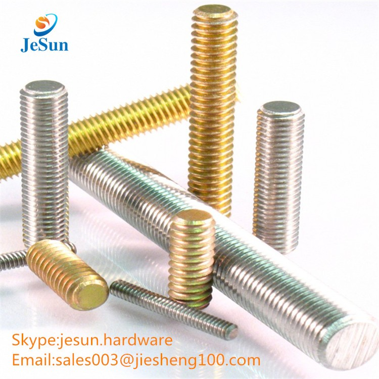 Alibaba factory wholesale stainless steel bolts all thread rod