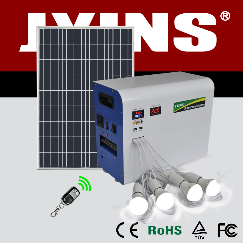 300w 500w 1000w portable solar system for house solar power system home