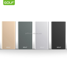 China manufacturer Ultra Slim metal case 5000mAh Power Bank for mobile phone switch power supply