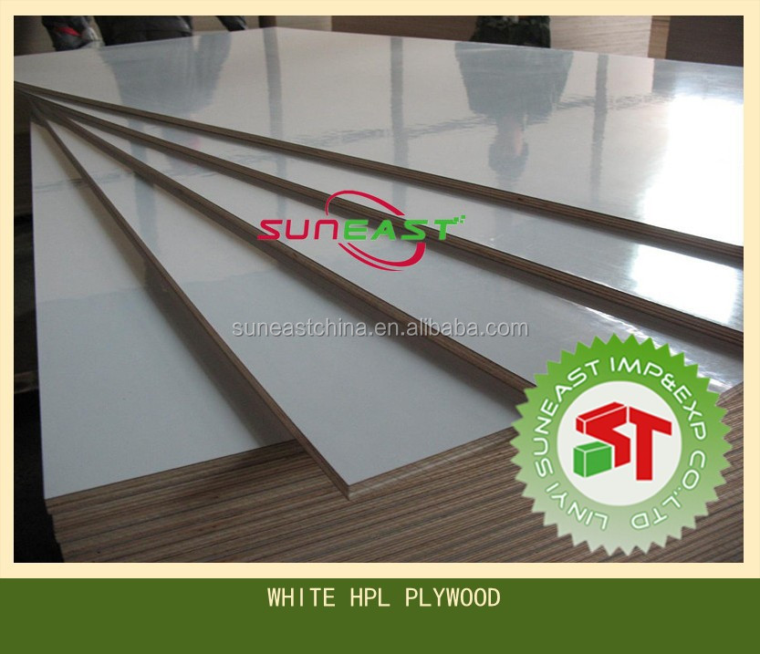 white hpl plywood,mirror hpl laminate